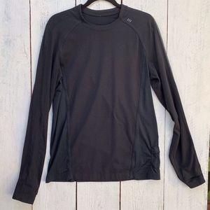 Lululemon Mens L Long Sleeve Pullover Shirt Crew